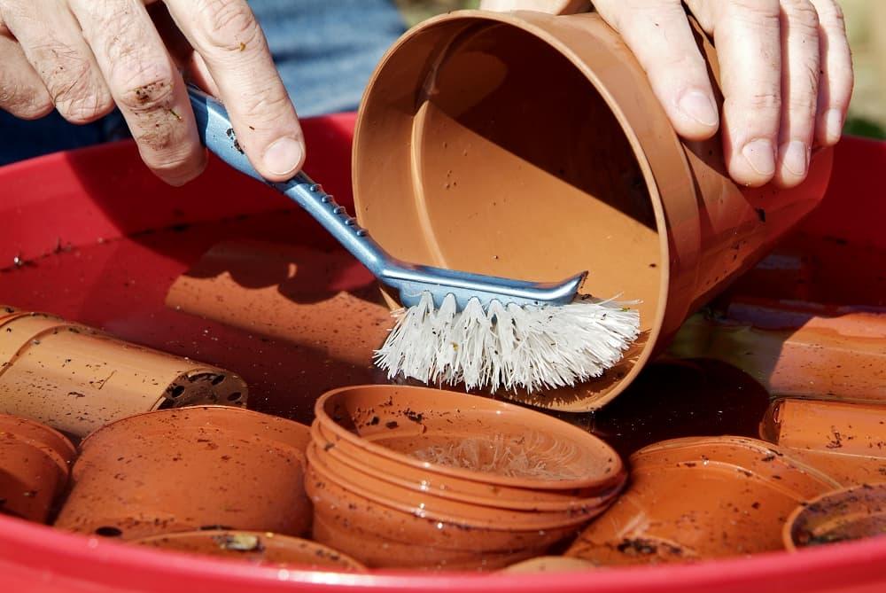 checklist potten schoonmaken
