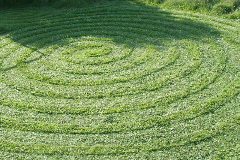 Maai een spiraalvorm