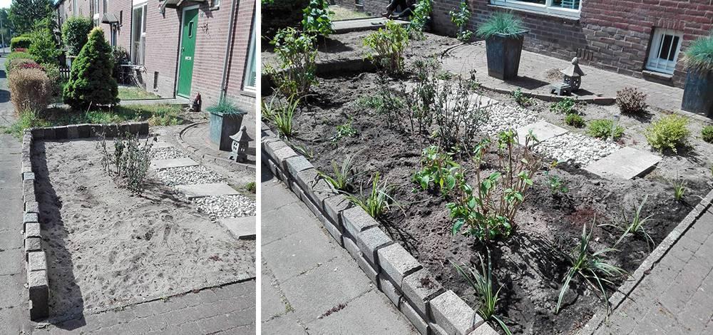Operatie Steenbreek Amersfoort: before en after